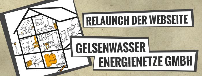Relaunch der Webseite GELSENWASSER Energienetze
