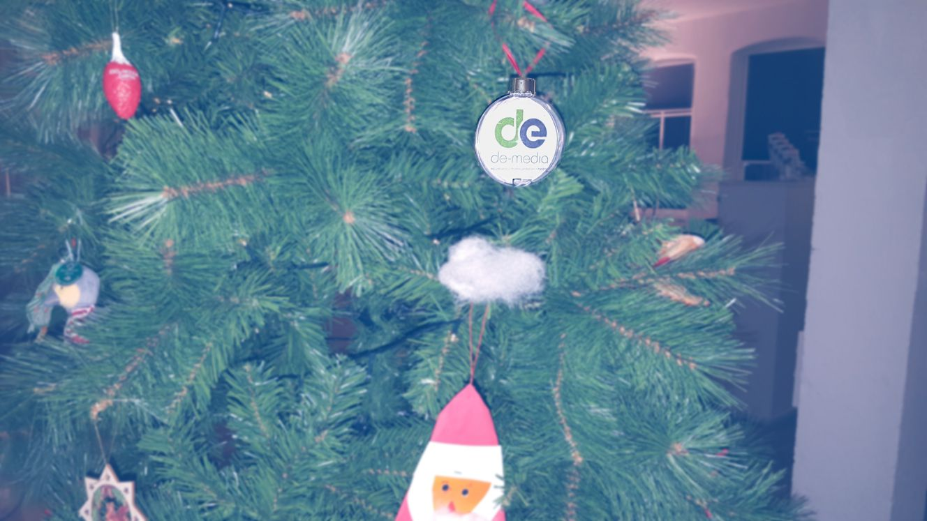 Ein Bild von unserem Weihnachtsbaum 2015